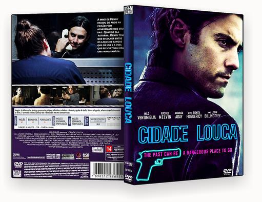 CAPA DVD – Cidade Louca 2018 DVD-R AUTORADO