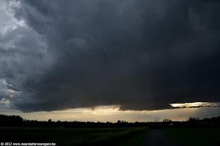 inflow onweer foto