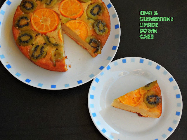 Kiwi, Clementine Upside down cake