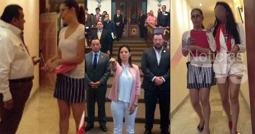 Sandra Vaca, reclutadora de jóvenes para red de trata del PRI, llega al Congreso