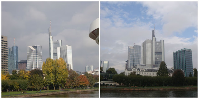 passeio de barco pelo rio Meno em Frankfurt