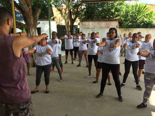 Fortalecimento de vínculos: Prefeitura promove aula inaugural de ginástica no CRAS de Riacho da Guia