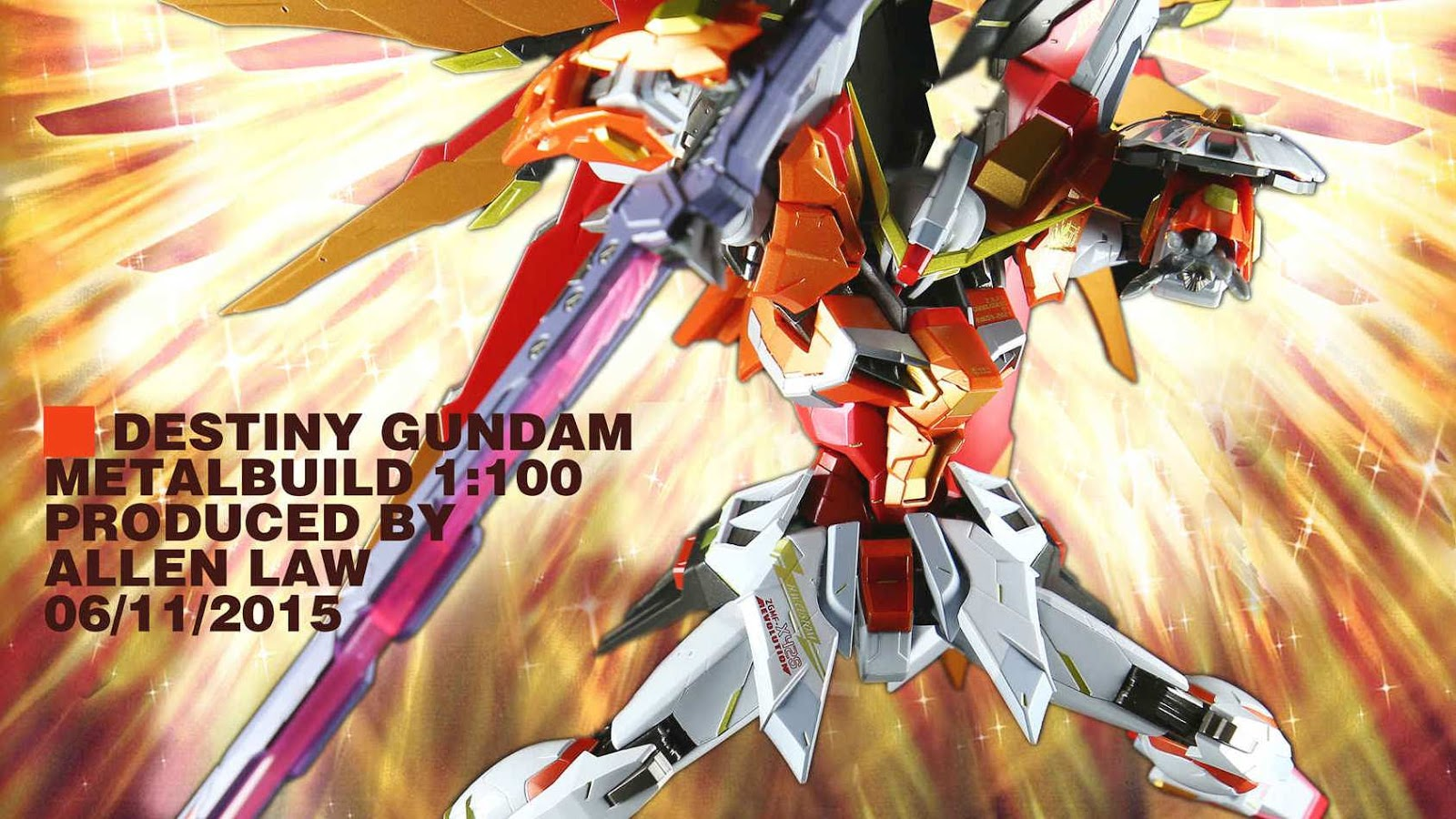 Gundam Family Tamashii Web Exclusive Tamashii Nation 2015 Metal