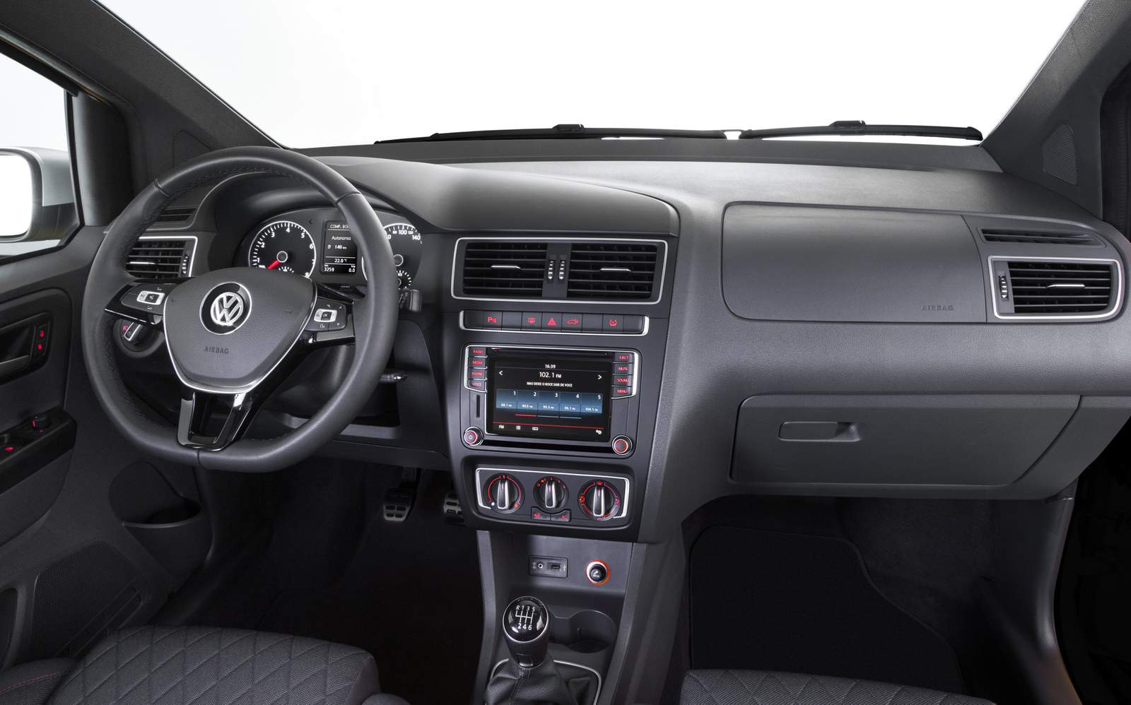 VW Fox 2016 interior