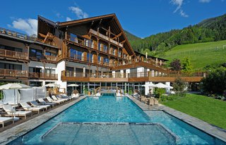 5 Sterne Wellness Resort Andreus in St. Leonhard in Südtirol