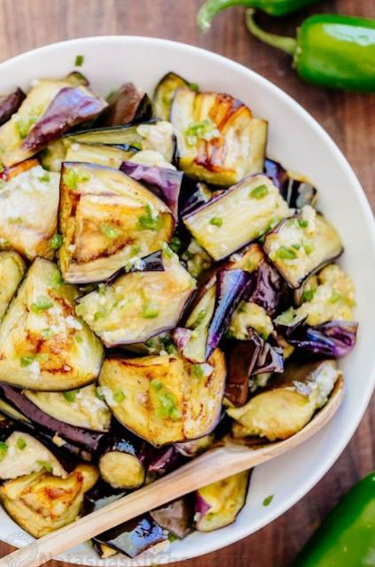 Spicy Eggplant Recipe (Ogoniok)