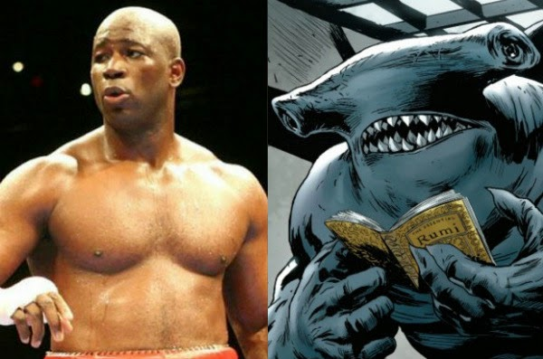 Raymond Olubowale cast as King Shark in the new DC movie Suicide Squad