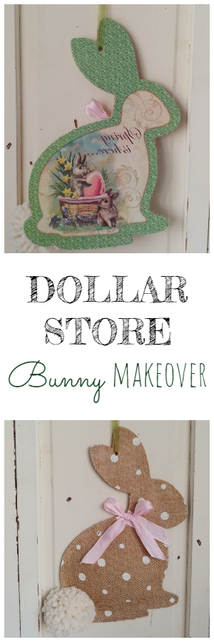 Dollar Store Bunny Makeover