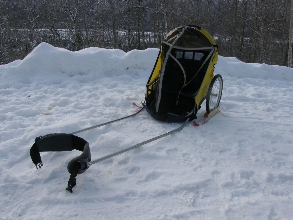 An Alaskan Family with a Yurt: Pulks on the Cheap #2