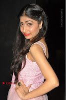 Actress Nidhisha Reddy Pos in Beautiful Pink Dress at Virus Telugu Movie Audio Launch .COM 0036.JPG