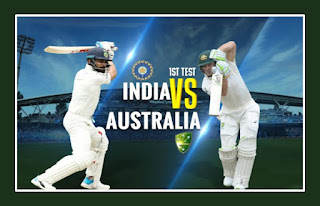 Today 1st Test Match Prediction Australia vs India