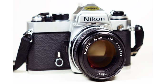 Nikon Fe 35mm Slr Film Camera Nikkor 50mm F14 Ai Lens Graphic Trip