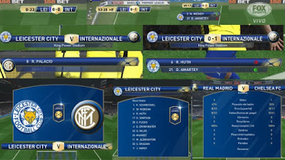 PES 2016 International Champions Cup Scoreboard FINAL VERSION by Jesushrs
