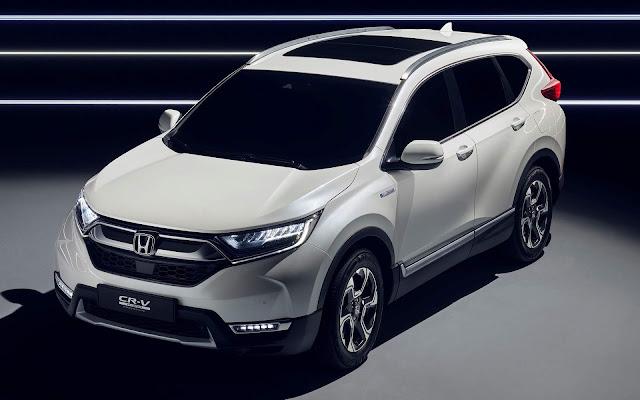 Novo Honda CR-V Híbrido