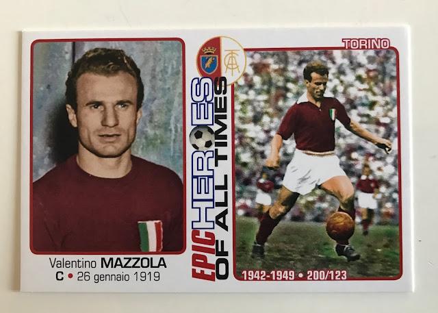 Figurina Valentino Mazzola edizioni Qubotondo