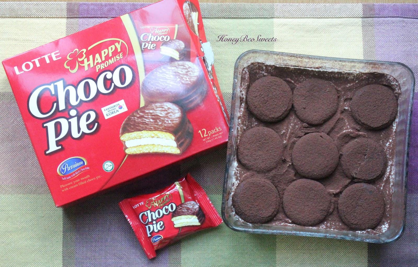 Easy Tiramisu With Lotte Choco Pie