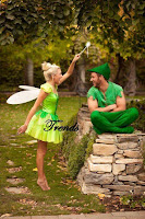 Disfraces para parejas de Peter Pan