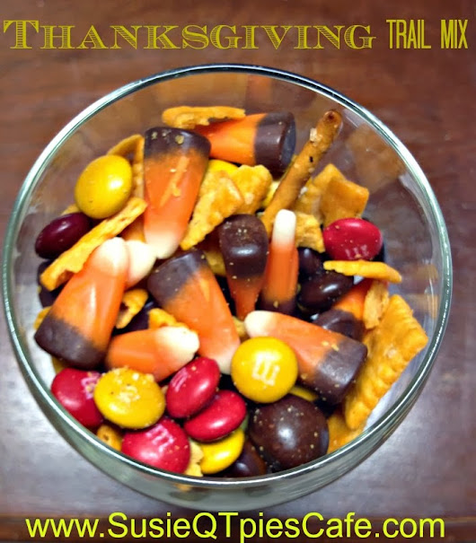 Thanksgiving Trail Mix {Thanksgiving Appetizers}