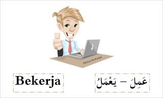 bahasa arab bekerja