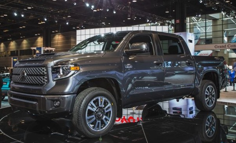 2018 Toyota Tundra TRD Sport Model and Design