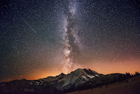 Milky Way Galaxy - Mount Rainier
