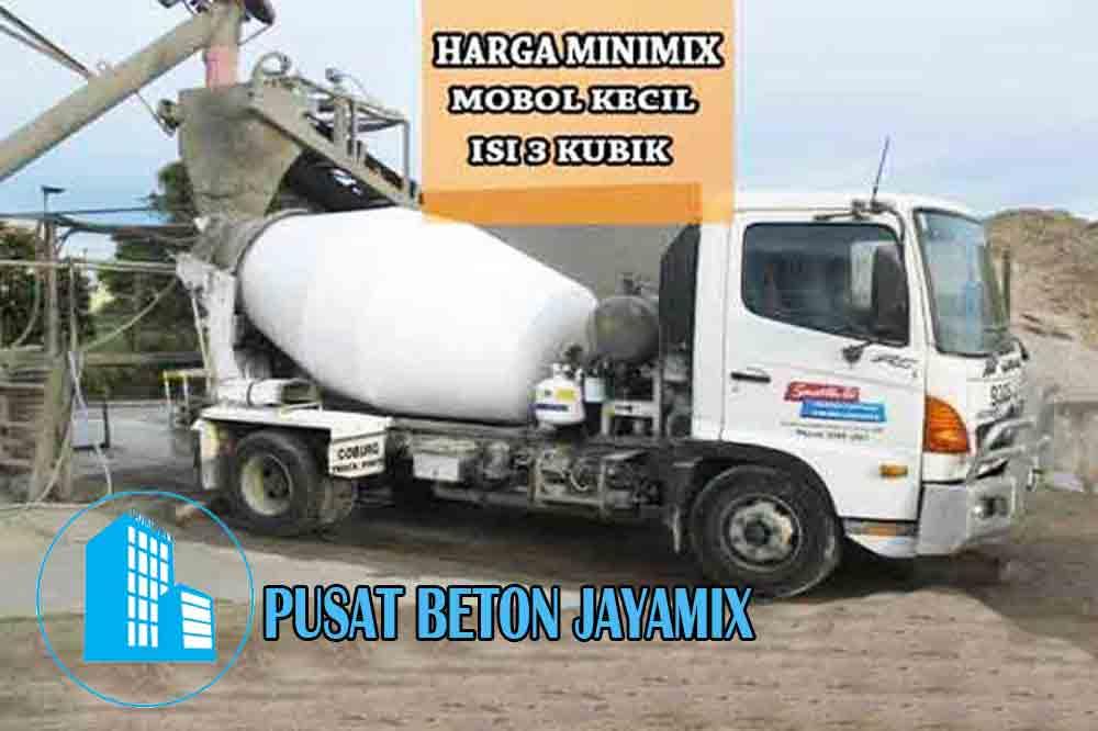 HARGA BETON COR MINIMIX PER M3 TERBARU 2020