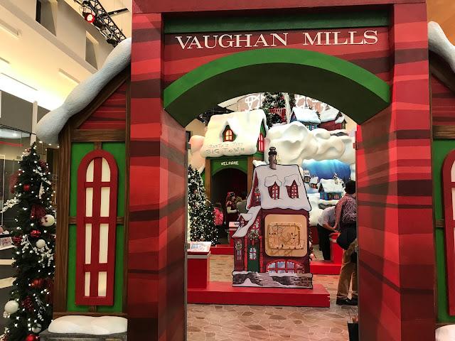 vaughan mills santa