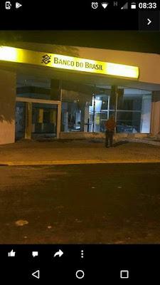 Bandidos explodem Banco do Brasil em Miracatu nessa madrugada 20/06