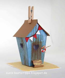 strandhaus-haus-verpackung-fur suessigkeit mit-stampin-up-framelits-zu-hause