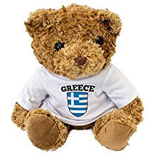Teddy bear Greek style!
