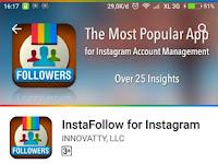 Cara mudah mengetahui akun instagram yang tidak Follback