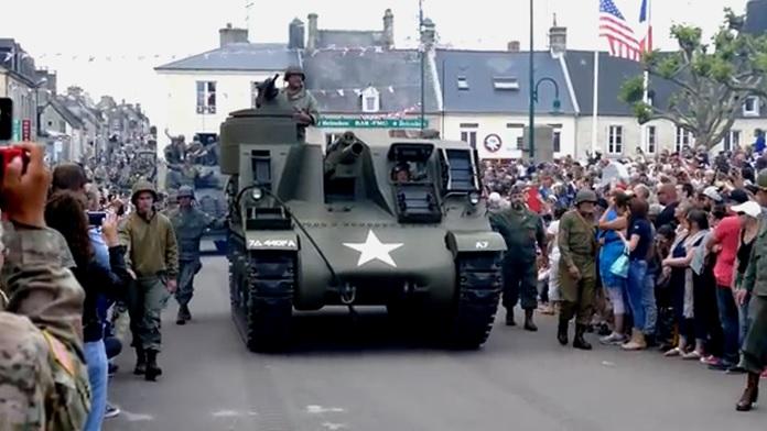 Ogni anno la Francia festeggia il D-Day Normandy - Video
