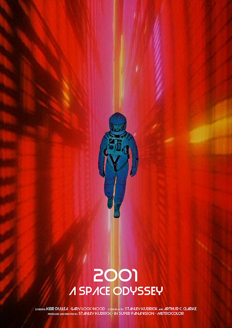 an analysis of the topic of the movie 2001 a space odyssey by dr arthur c clarke and stanley kubrick