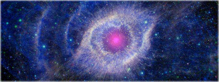 as fotos do espaço profundo tem cores falsas?