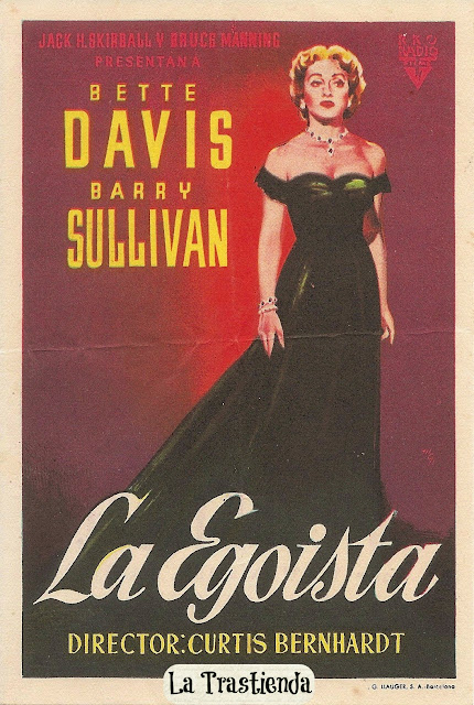 Programa de Cine - La Egoísta - Bette Davis - Barry Sullivan