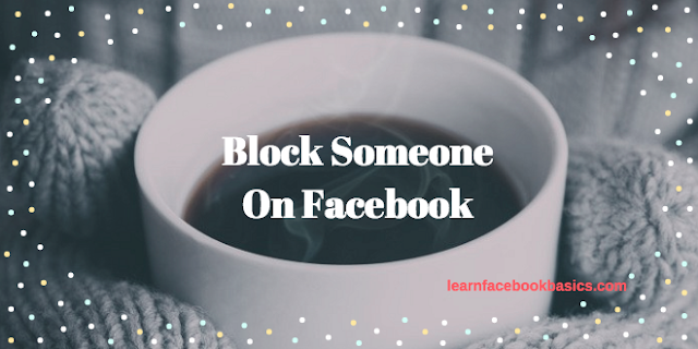 Block someone on Facebook Messenger | Blocking People on FB Messenger