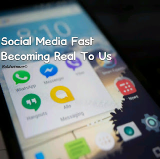 social media fast becoming real