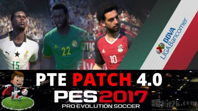 PTE Patch 4.0 PES 2017