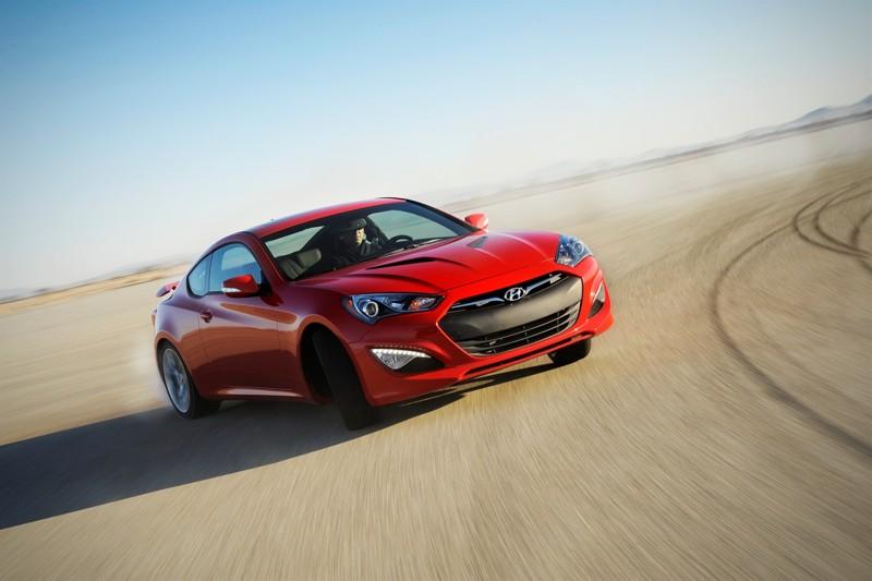 UPDATED: 2013 Hyundai Genesis Coupe Sliding Sideways Real