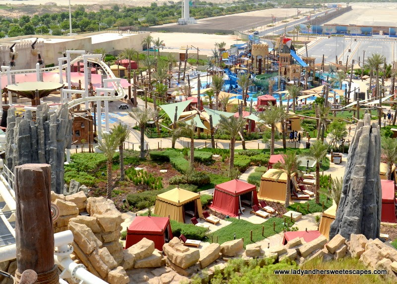 Yas Waterworld in Abu Dhabi