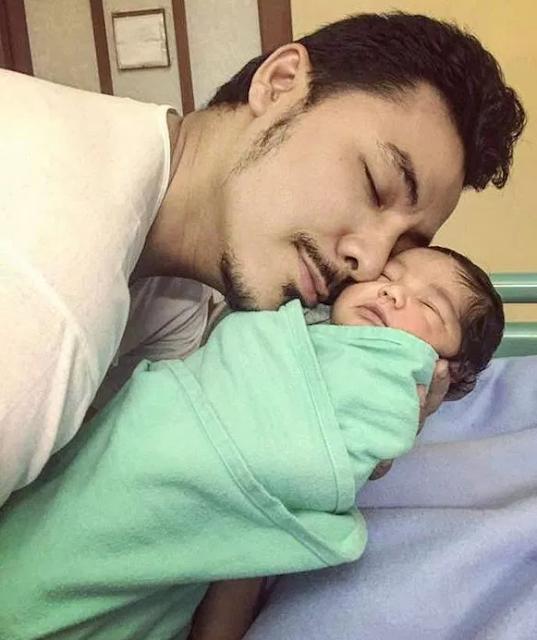 Syaikhul Islam Anak Lelaki Syamsul Yusof Dan Puteri Sarah Liyana (5 GAMBAR)