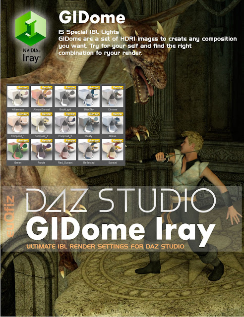 GIDome Iray