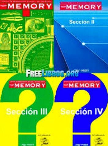 Top Memory: Técnicas de memorización. Estudio y lectura rápida – Orbis Fabri