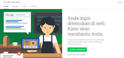 Tutorial Cara Submit Sitemap Blogger Ke Google Webmaster Tools - Login Google Webmaster