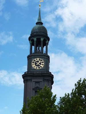 Hamburg, Michel, Sankt Michaelis Kirche, Kirche, Turmspitze