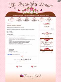 Design Blog My Beautiful Dream