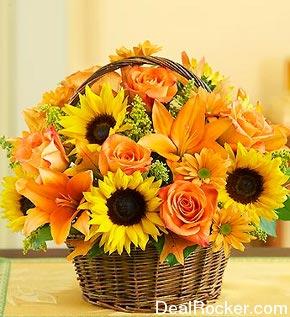 Autumn Basket Arrangements Autumn Crafts Picture