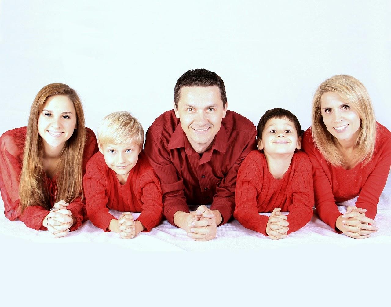 Cara Foto Keluarga Yang Baik