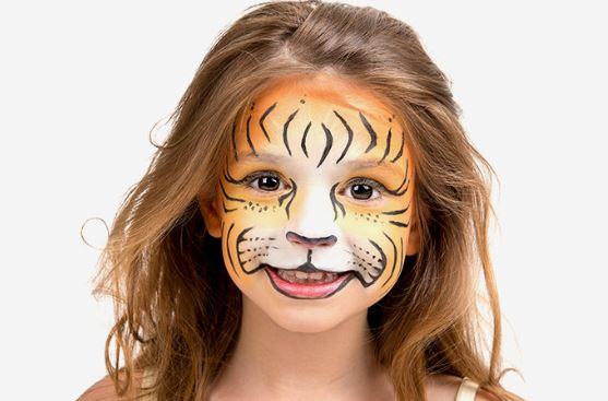 como hacer un maquillaje de tigre