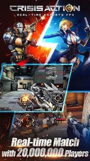 Game Crisis Action Best free FPS V1.9.2 MOD Apk Terbaru